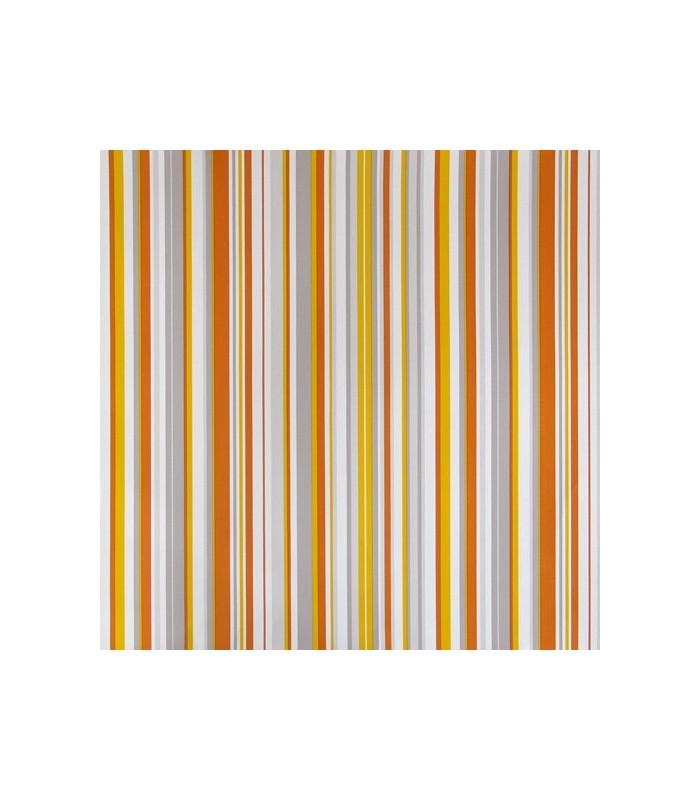 Papel pintado rayas de parati con dise os de l neas rectas for Papel pintado tonos naranjas