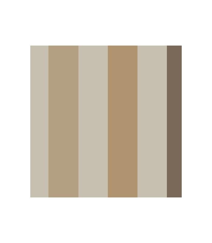 Papel pintado rayas de parati con dise os de l neas rectas for Papel pintado marron chocolate