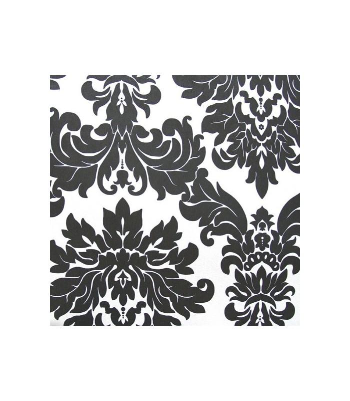 Papel pintado espacios del grupo parati con motivos - Papel pintado negro ...