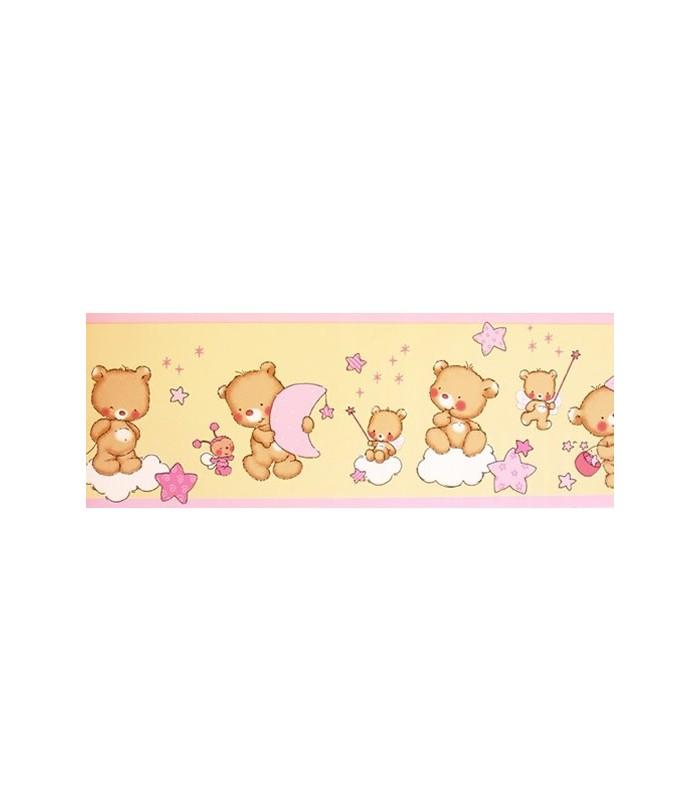 Cenefa bimbaloo 5301 coleccion bimbaloo cenefa para papel pintado infantil con dise o de osos - Cenefas infantiles para imprimir ...