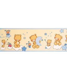 Cenefas con dise o infantil decorar habitaciones de ni os papel pintado enpapelarte - Cenefas para ninos ...