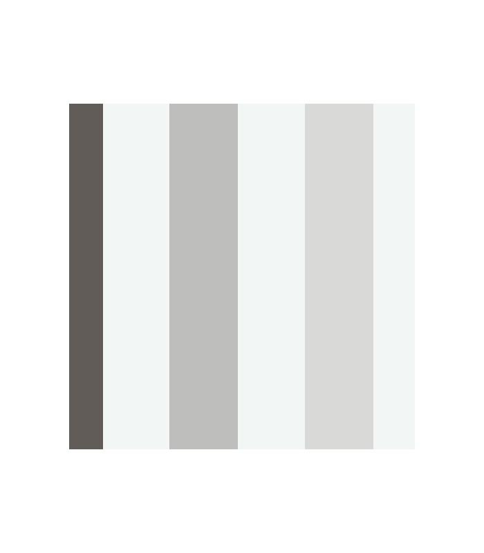 Papel pintado tres en raya del grupo parati con un dise o for Papel pintado en blanco y plata