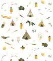 Papel pintado Pint tribu india 35000