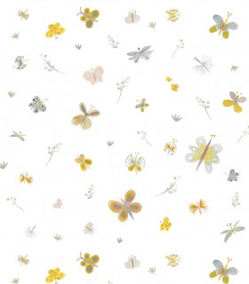 Papel pintado Pint mariposas original 35070
