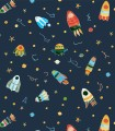 Papel pintado Pint naves noche 35081